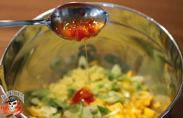 Sweet Chilli Sauce dazu...