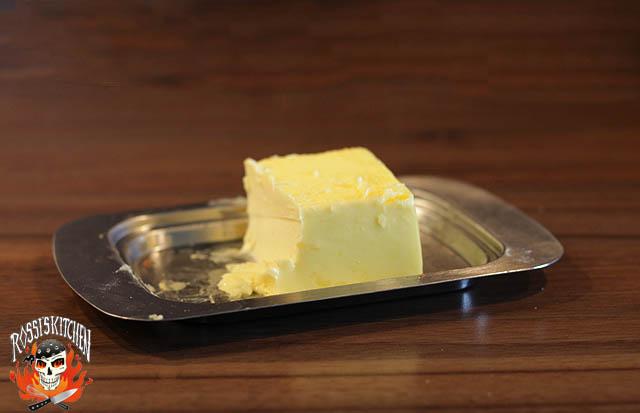 Butter, mehr braucht es nicht...